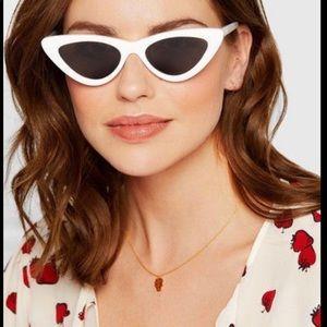 🆕ADAM Selman X Le Specs Lolita 50mm  Sunglasses